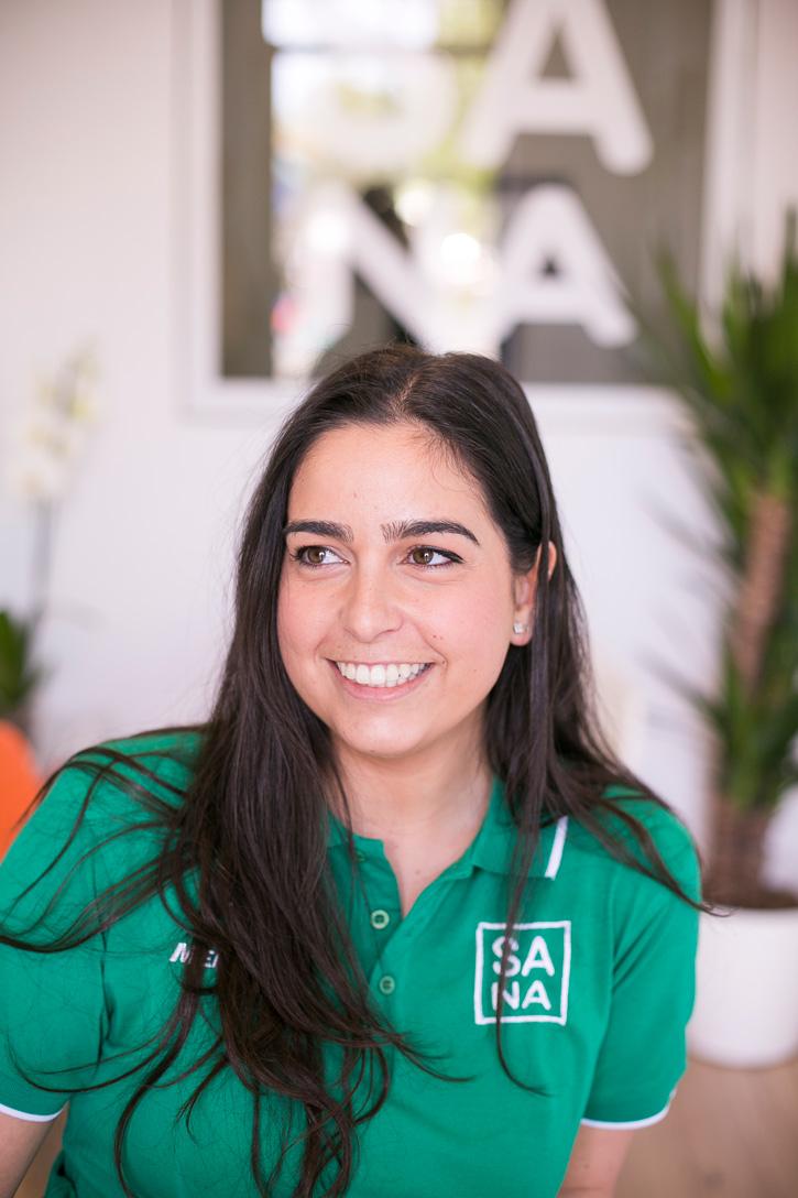 Laura Pérez, fisioterapeuta